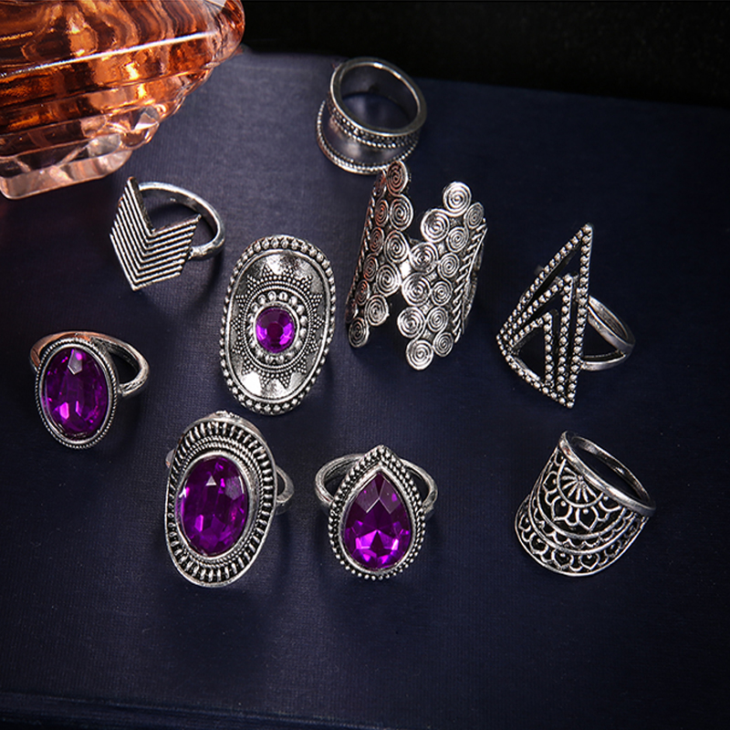 Gypsy Bohemian Rings For Women's