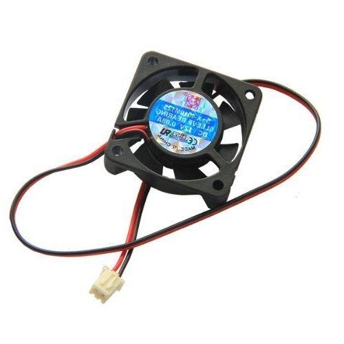 1Pcs Black 2 Pin 12V 40mm X 10mm 4010 Brushless DC Fan PC Cooling Cooler Fan