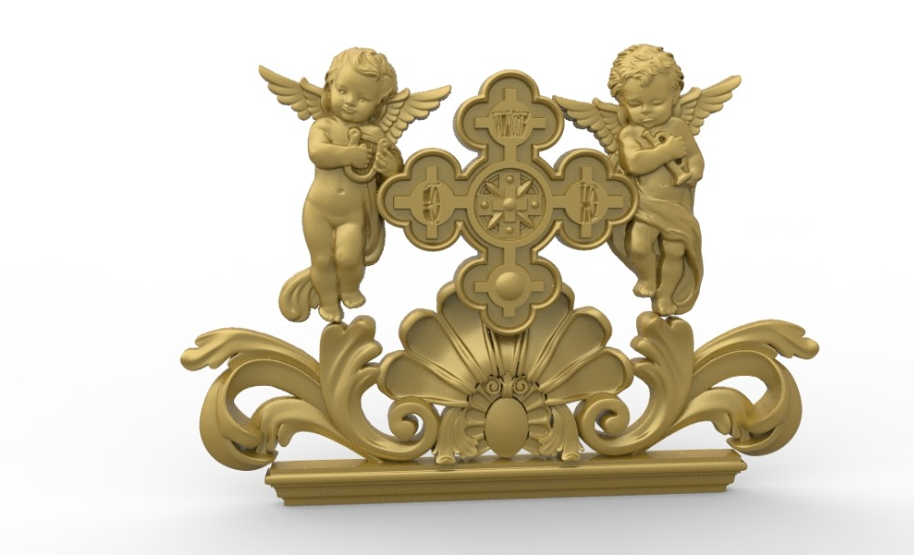 Angels 3D Model Relief STL Model For CNC Router Carving Engraving Artcam Type3 Aspire M367