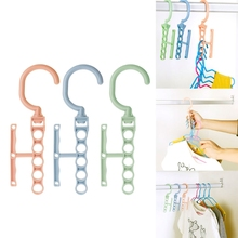 Home Storage Clothes Hanger Organizer Multi-function 360 Rotating Rack With Handle Clothing Pin Racks