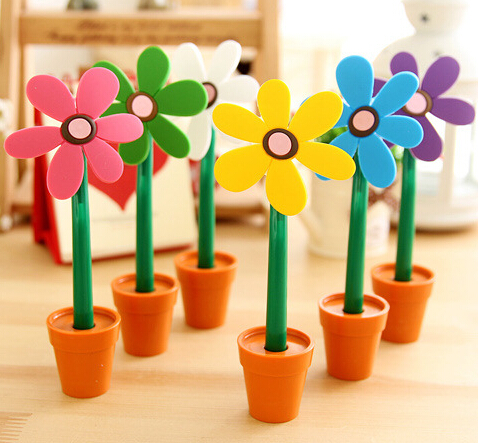 Pens, Pencils & Writing Supplies Official Website Sun Flower Ball Point Pen For Kids Students Stationery Prizes Gifts For Children Cute Desk Pen Be Novel In Design