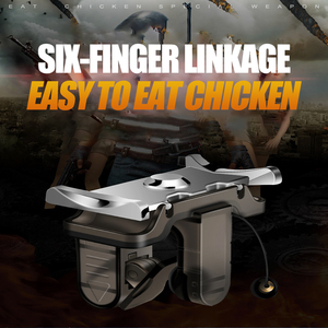 Image 5 - 2Pcs PUBG Mobile Game Controller Joystick Trigger Fire Button L1R1 Shooter Aim Key  Assisted Gamepad For iPhone Android Phone