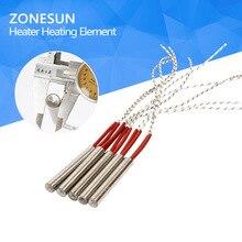ZONESUN индивидуальные Нагревательный элемент формы проводной подогреватель картриджа