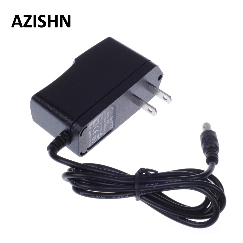 AZISHN AC 100-240V DC 12V 1A US Plug AC/DC Power adapter charger Power Adapter for Security CCTV Camera (2.1mm * 5.5mm) US hb 070201 7 2v 1a 7 2w charger for lead acid battery black us plug ac 100 240v