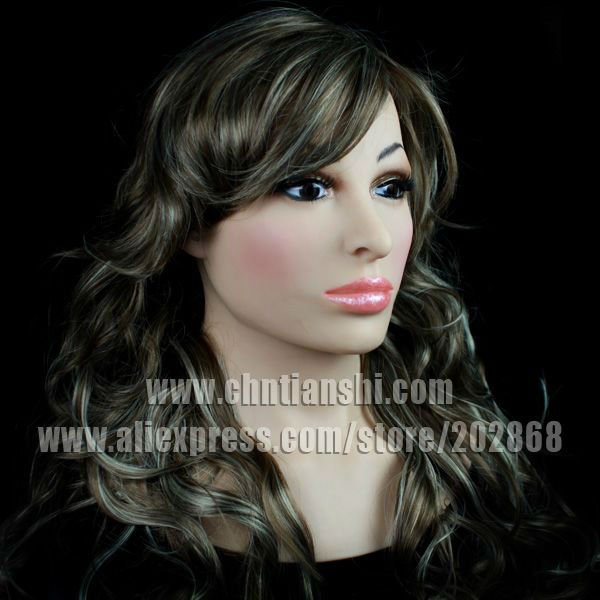SF-14 human mask crossdress silicone female - Guangzhou Usilicone chemical material Co.,Ltd store