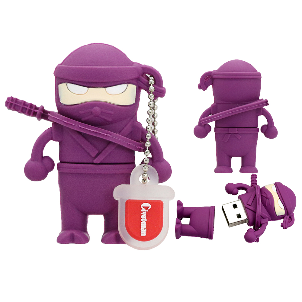 Cartoon Ninja. USB Stick Flash-geheugen Naruto 8 GB 16 GB 32 GB 64 GB - Externe opslag - Foto 4