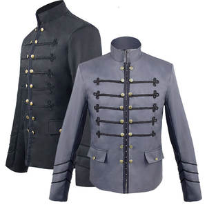 Prince Cosplay Edwardian Costume-Coat Trench-Jacket Steampunk Frock Men Outwear Victoria