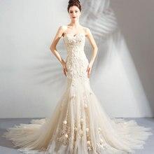 SIJANEWEDDING Vintage Brides Wedding Party Dress 239
