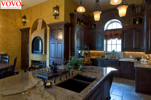 Period style kitchen design-in Kitchen Cabinets from Home ...
