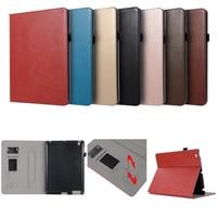 Luxury PU Leather Case For IPad 2 3 4 Retro Briefcase Auto Wake Up Sleep Hand