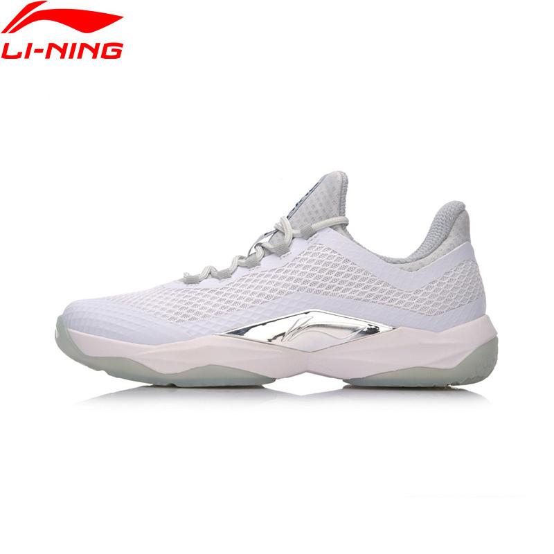 Li-Ning Professional Badminton Shoes for Men Wearable Breathable Sneakers Cushioning LiNing Sports Shoes Anti-Skid AYTN039 Z123 professional kumpoo unisex shoes badminton light cushioning comfortable sports sneakers for men and women breathable kh 205 l799