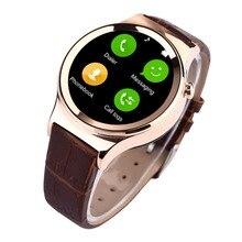 2016 neue Tragbare Geräte Runde Stil Bluetooth Smart Uhr T3 SmartWatch Unterstützung SIM TF Karte uv-detektion für ios android telefon