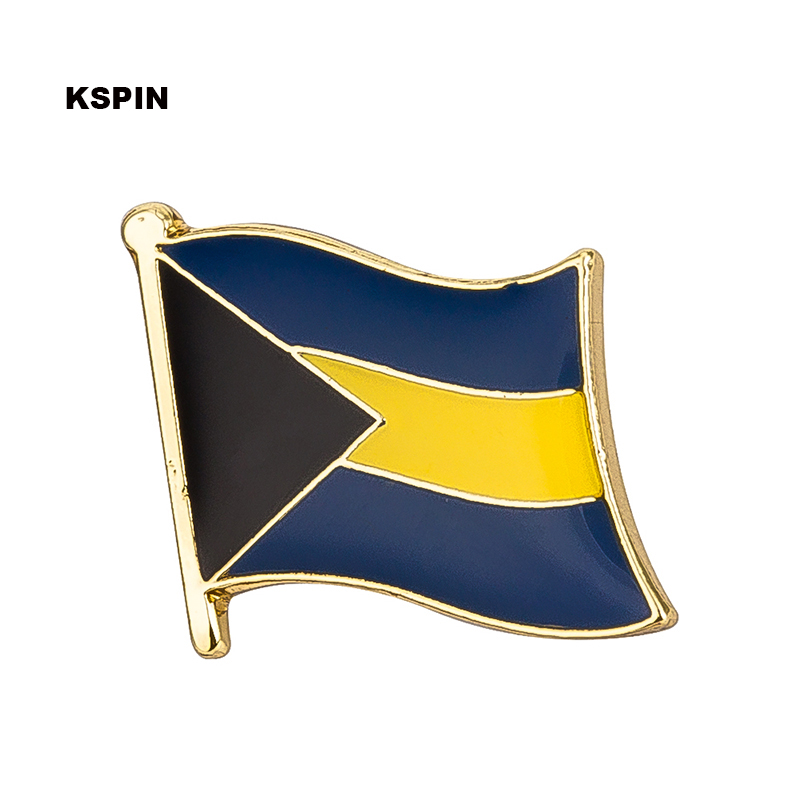Bahamas Flag Lapel Pin Badge
