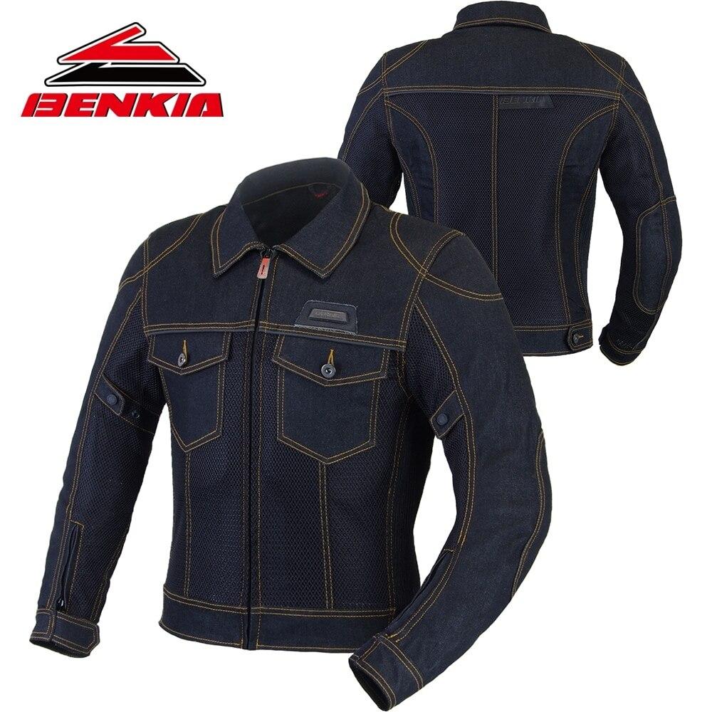 BENKIA мотоциклетная мужская куртка Байкерская джинсовая куртка мотокросса байкерские джинсовые куртки верхняя одежда куртки Jaqueta Moto защита