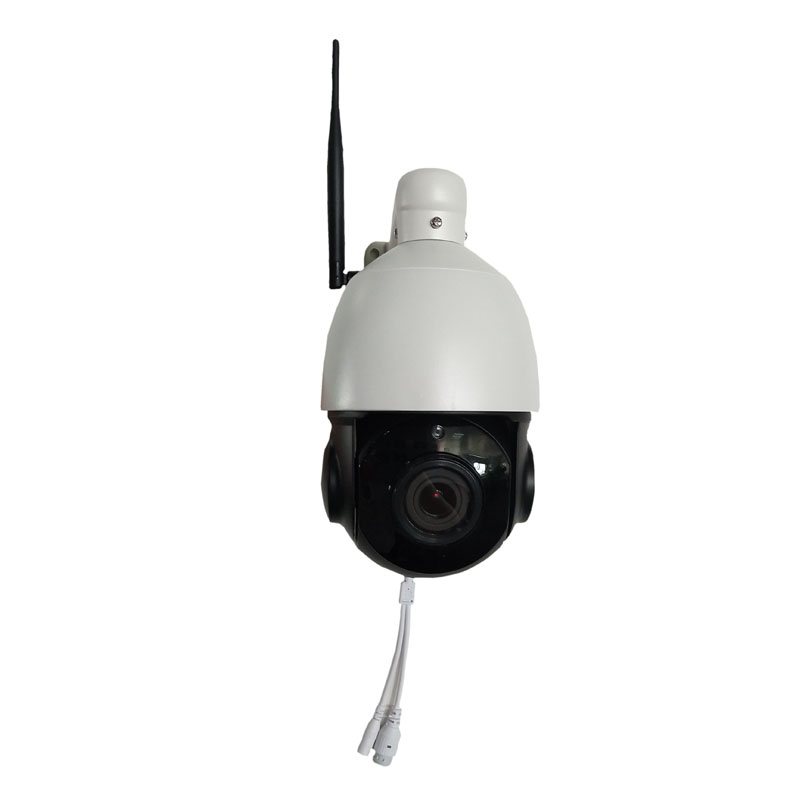 1/3 inch Wireless PTZ Speed Dome HD IP Camera WIFI Outdoor 4x Zoom CCTV Security Video Network Camera Audio Talk,Speaker SD Card fpv 1 2ghz 100mw 4ch wireless audio