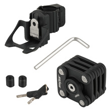 PAW Folding Bike Lock Ultra Strong Harden Steel Alloy Metal Cube Lock Anti-theft Chain Cable Lock free shipping