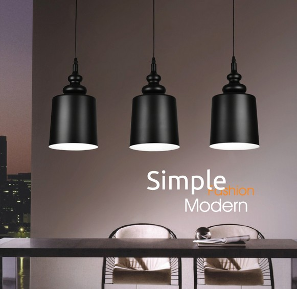 Nordic Simple Iron Droplight Modern LED Pendant Light Fixtures For Living Dining Room Hanging Lamp Indoor Lighting Lampara hghomeart children room iron aircraft pendant light led 110v 220v e14 led lamp boy pendant lights for dining room modern hanging