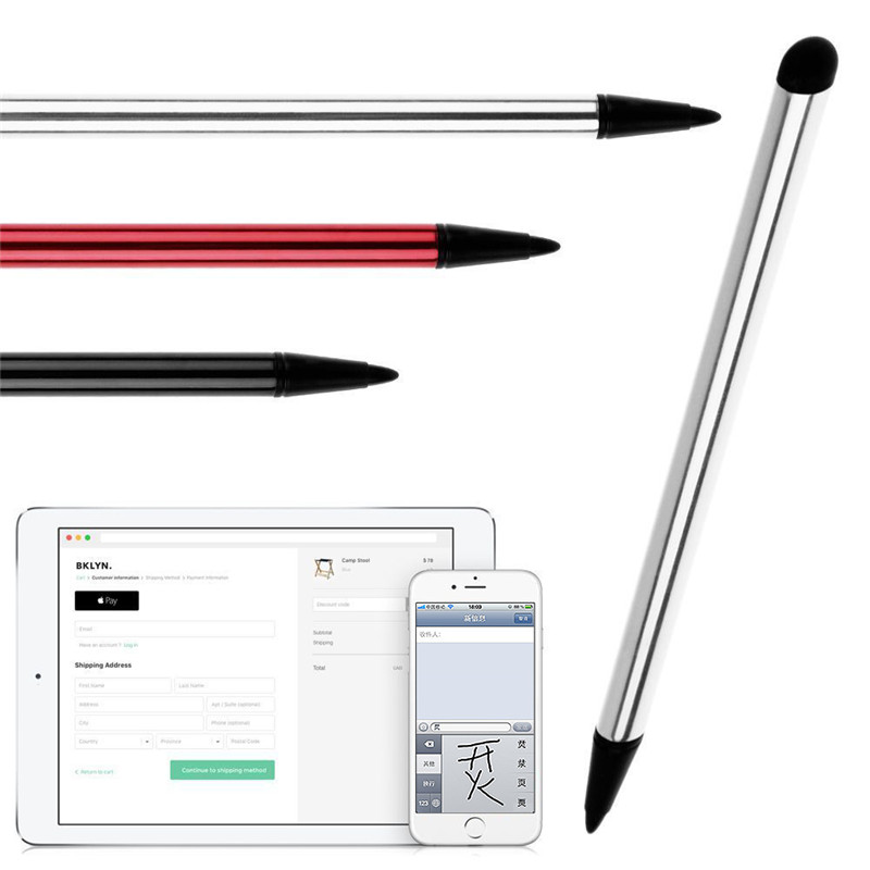 3 2 1 3 Pcs/lot Stylus Pen Touch Pen for iPad Air 2/1 Pro Mini Universal Capacitive Touch Screen Pen for iPhone 7 X Phone Tablet Pen (2)
