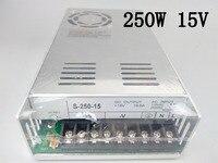 S-250-15 power supply 250w 15V 16.6A power suply 15v 250w ac to dc power supply unit ac dc converter