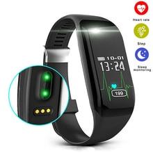 H3 Smartband Sono Rastreador De Fitness Monitor de Freqüência Cardíaca Banda Inteligente Pulseira Bluetooth Pedômetro Pulseira De Relógio pk fitbits
