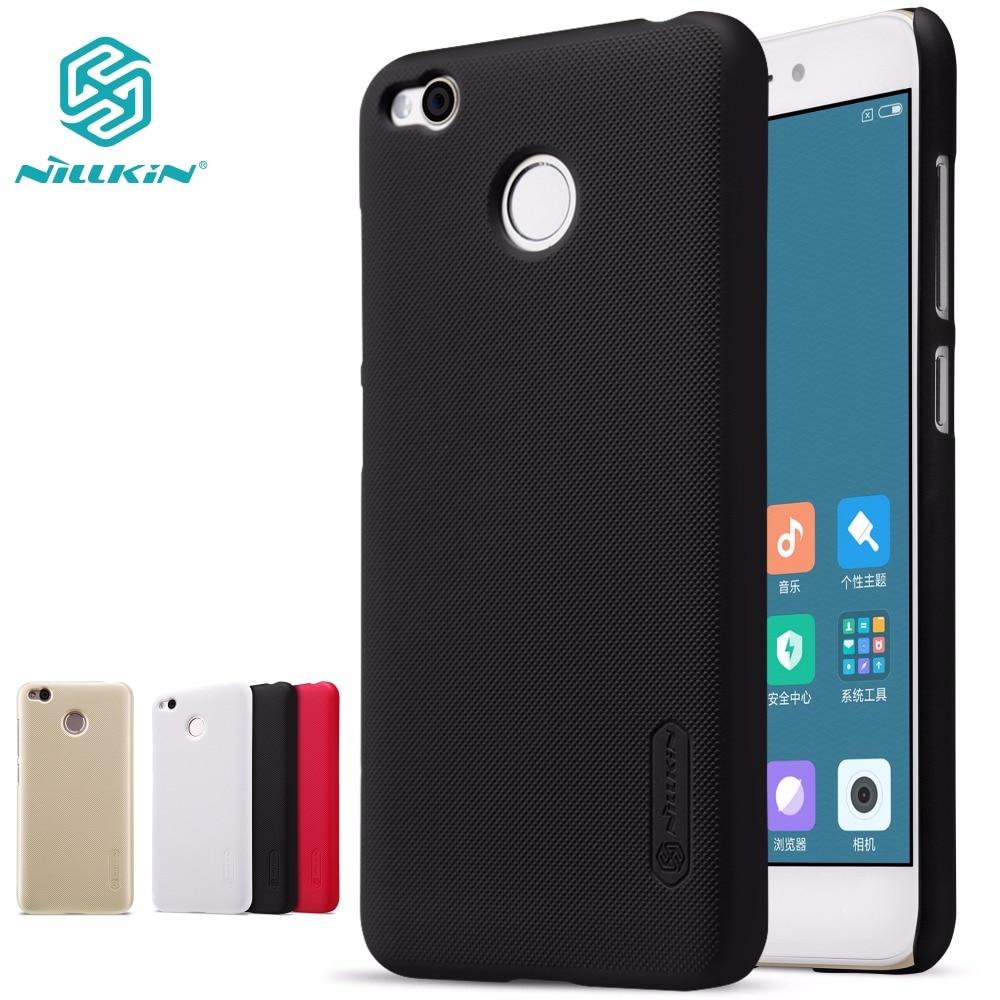 case for xiaomi redmi 6 6A 4X redmi6 pro prime NILLKIN Super Frosted Shield hard matte back cover gift screen protector