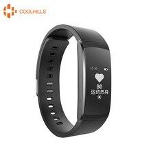 Coolhillis I6Pro Smart Браслет Heart Rate Мониторы умный Браслет Фитнес трекер вызов/SMS напоминание Водонепроницаемый IP67 Smart Band