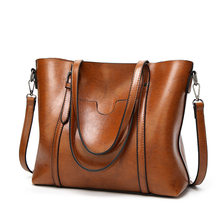 Sacs à Main de luxe en cuir souple pour femmes, sacoche, grand fourre-tout, Sac à épaule incliné