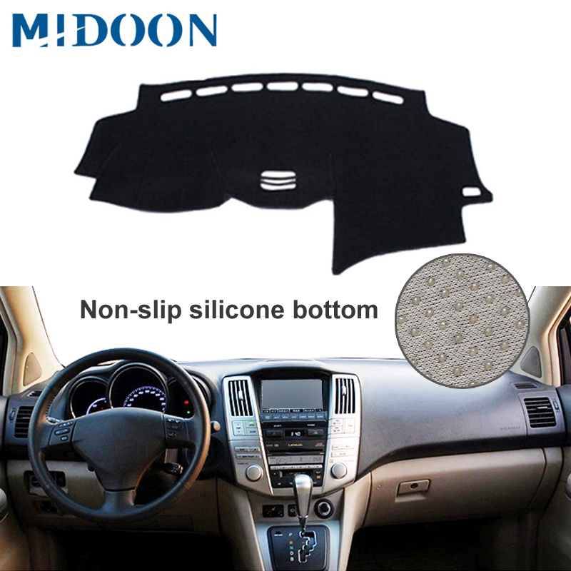 Car Dashboard Cover DashMat For Lexus RX RX300 RX330 RX350 2004-2006 2007 2008 2009 Non-slip Sun Shade Pad Carpet Anti-UV