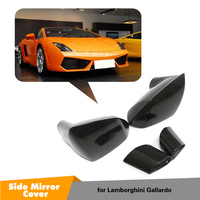 2x сухой углерода авто боковое зеркало чехол для Lamborghini Gallardo LP550 LP560 2008 2014 замена зеркало заднего вида крышки