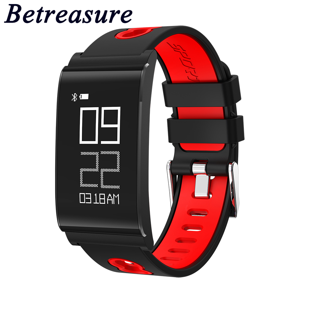 Betreasure NEW N109 Bluetooth Smart Wristband Running Swimming Fitness Smart Band Blood Pressure Smart Bracelet For Smart Phone
