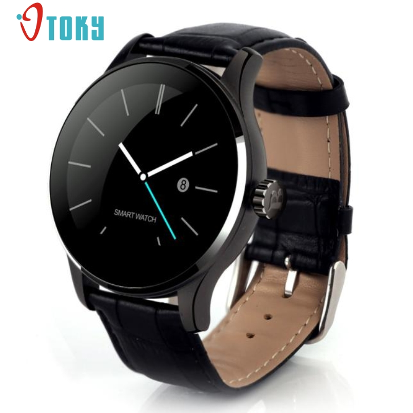 ФОТО Excellent Quality K88H Smart Watch Heart Rate Monitor Bluetooth  Smartwatch MTK2502C Heart Rate Track Wristwatch For IOS Andriod