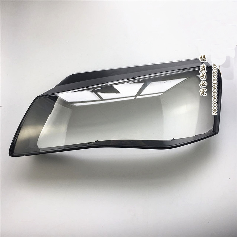 For Audi A8 front headlamp lampshade old car headlight shell low matching high transparent