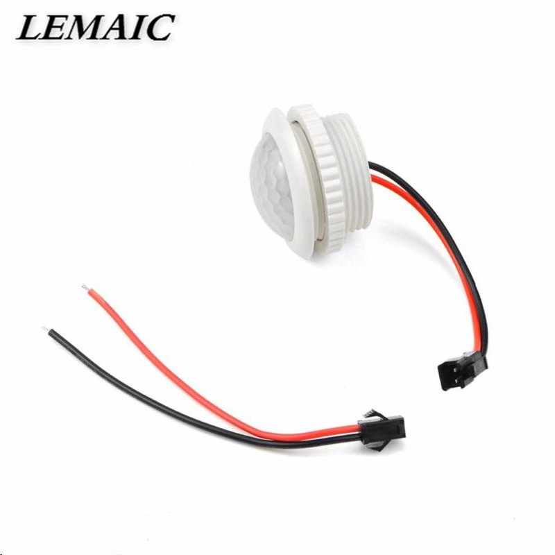 LEMAIC PIR Motion Sensor Switch AC 220V ON/OFF IR Infrared Human Body Motion Sensor Light Control Detector Module For LED Lamp high quality pir human body induction motion sensor light control led night lamp with magneti