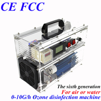 CE EMC LVD FCC factory outlet stores BO 730QY adjustable ozone generator ozone generator air medical water with timer 110/220V