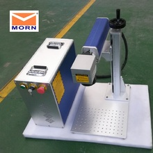 Portable Fiber Laser Marking Machine with Max /RAYCUS Laser And Galvo Used Metal Marking Laser Engraving Machine 9mm max tube marking machine sticker 8m