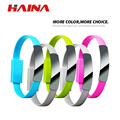 Bracelet Mobile Phone Cables Micro USB Data Cable Charging 22CM for  Android For  5 5S 6 6s 7 Plus