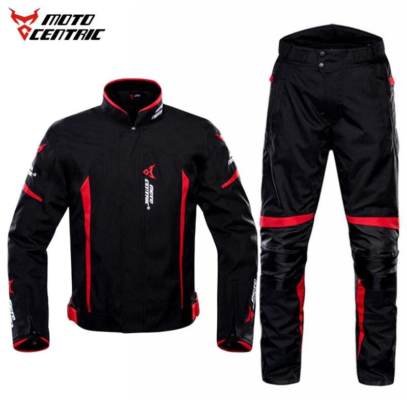 反射レース冬/夏ジャケットパンツオートバイ防水ジャケットスーツのズボン着脱可能な防護服、 Motocentric  グループ上の 自動車 &バイク からの 組み合わせ の中 1