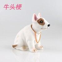 Car accessories Display car creative Cute shake your head Put the puppy put Shake head to swing bulldog pet statue