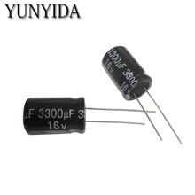 10 PZ 6.3 v 10 V 16 V 25 V 35 V 50 V 4700 UF 3300 uf 2200 UF 1500 UF 1000 UF 680 UF Alluminio Condensatore Elettrolitico