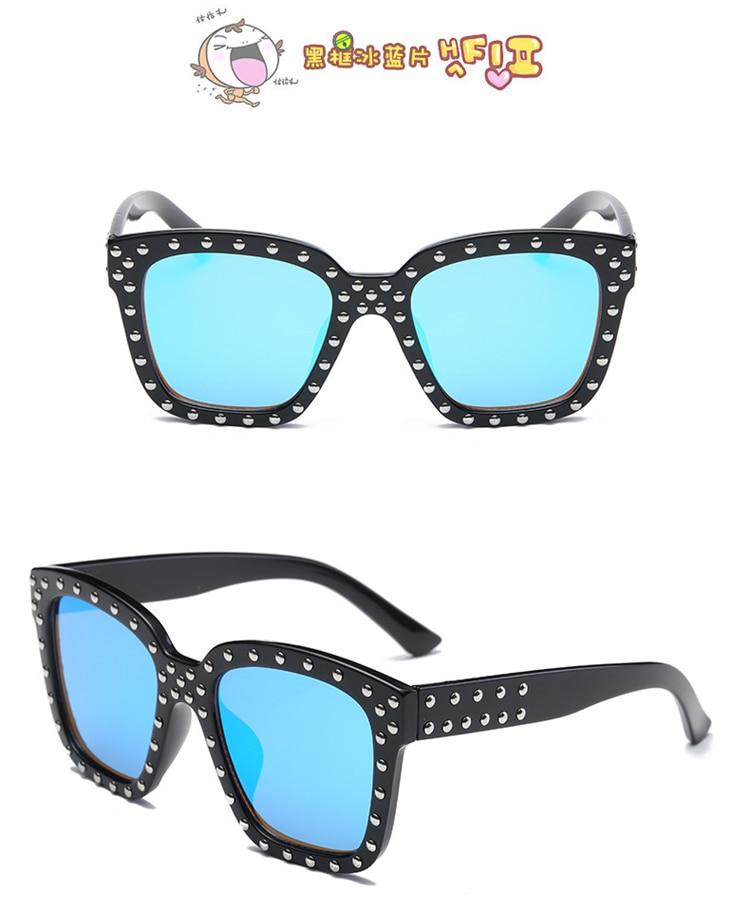 Diamond  Kids Sunglasses Children Sun Glasses Baby Eyeglasses Boys Girls UV400 Outdoor Decoration (2)