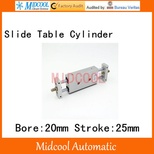 STMB slipway/cylinder double cylinder pneumatic components STMB20-25 bore 20mm stroke 25mm cylinder
