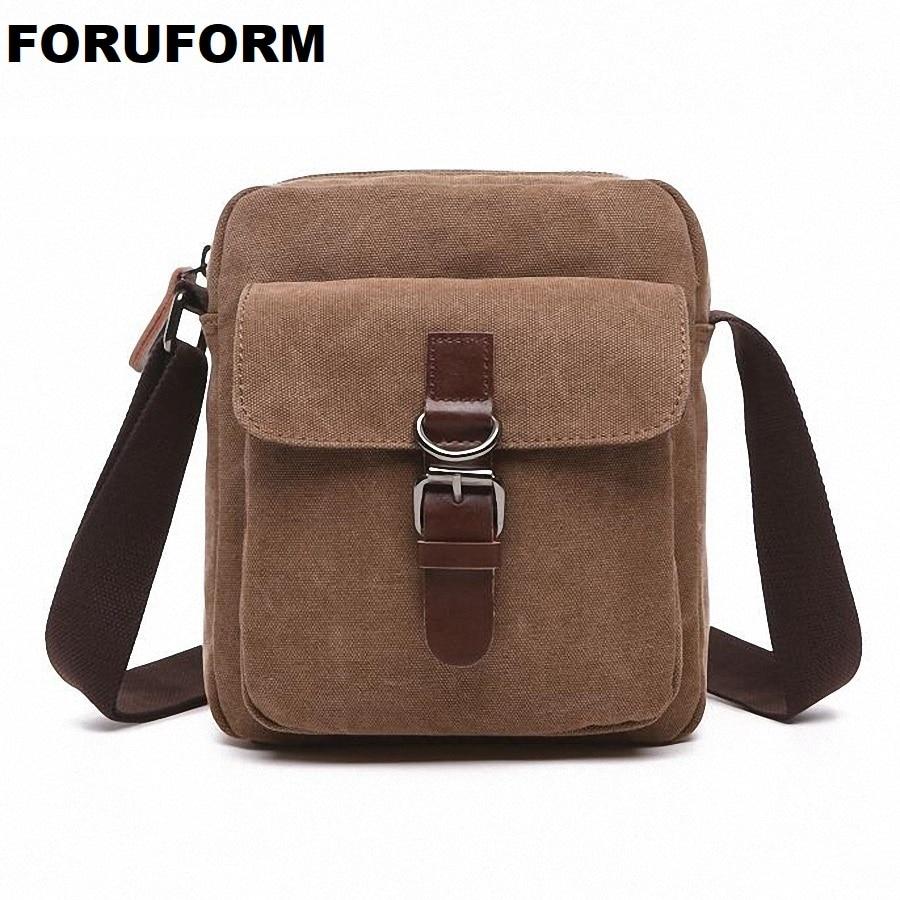 593a77b1ef Men s Canvas Bag Vintage Messenger Bag Brand Business Handbags Casual  Travel Shoulder Bag Men Crossbody Bags