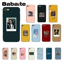 Babaite Jughead Riverdale Funny Spoof Art Black Soft Shell Phone Cover for iPhone 8 7 6 6S Plus 5 5S SE XR X XS MAX Coque Shell(China)
