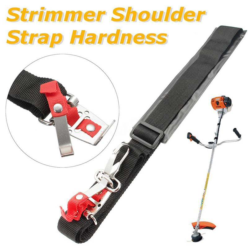 Universal Single Shoulder Padded Harness Strap for Brush Cutter Trimmer for Stihl