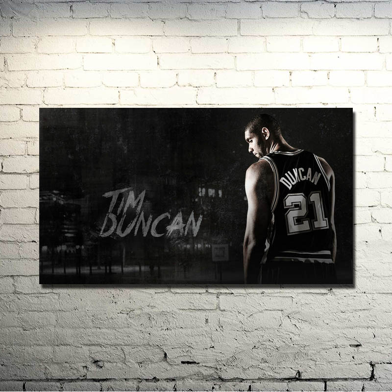 San Antonio Spurs Best player Art Silk Poster 13x20 20x30 Basketball Spotrs Picture Tim Duncan Tony Parker For Wall Decor 015