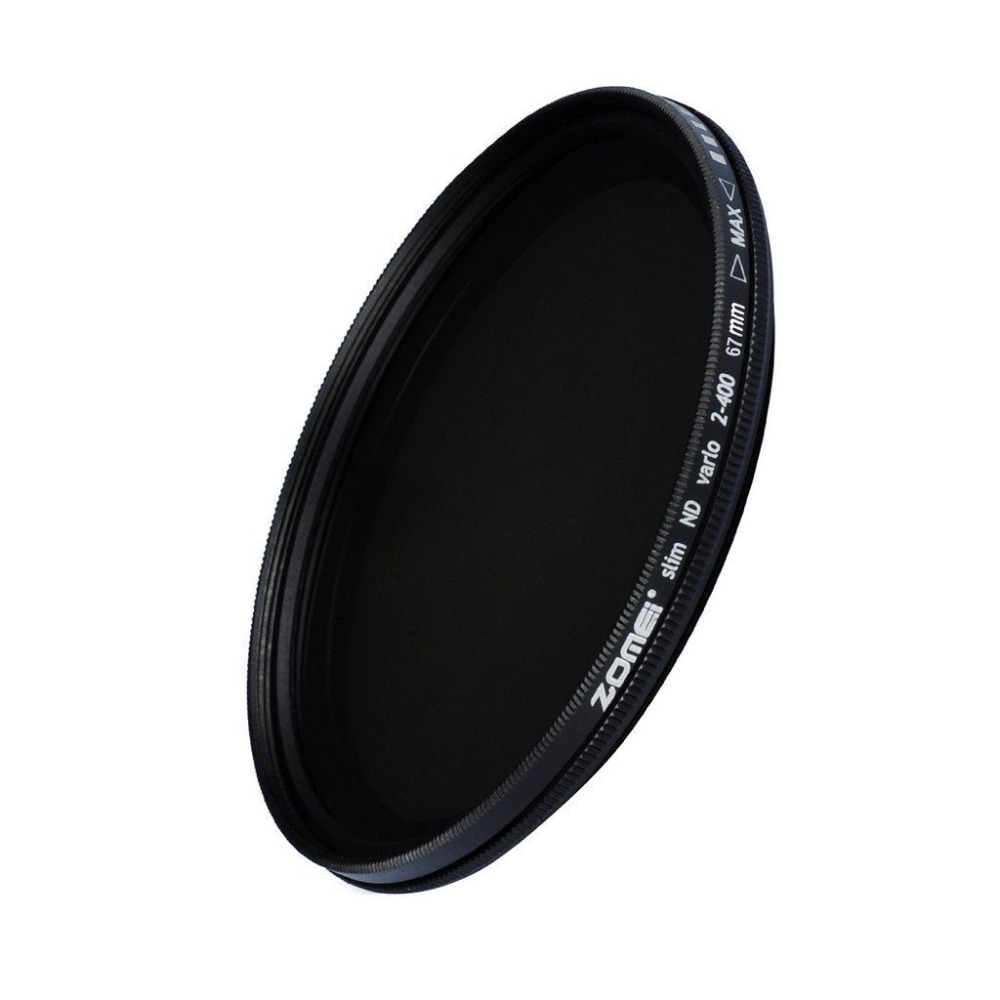 ZOMEI Glas Schlanke ND2-400 Neutral Density Fader Variable ND-filter Einstellbar 49/52/55/58/62/67/72/77/82mm