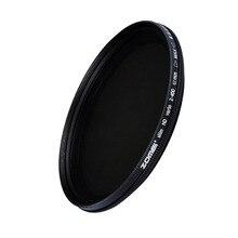 ZOMEI cam ince ND2 400 nötr yoğunluk Fader değişken ND filtre ayarlanabilir 49/52/55/58/62/67/72/77/82mm