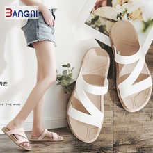 3ANGNI Women Sandals Slipper Indoor Outdoor Flip-flops Beach Shoes New Fashion Female Casual Soft Slipper цены онлайн
