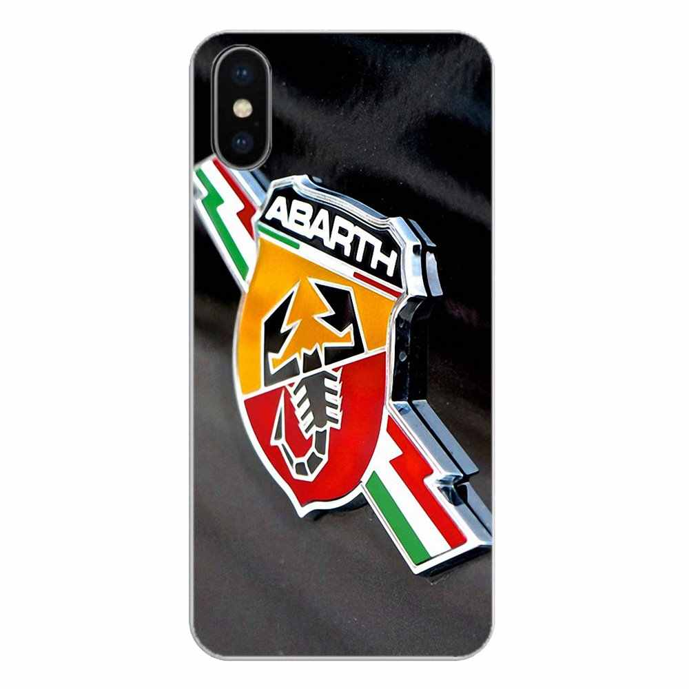 For Sport Car ABARTH Logo For Huawei Honor 8 8C 8X 9 10 7A 7C Mate 10 20 Lite Pro P Smart Plus Transparent Soft Shell Covers