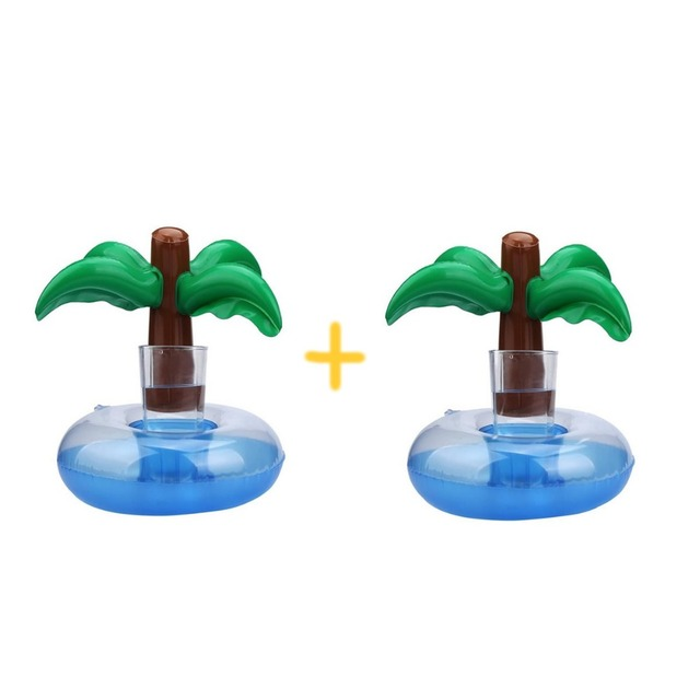 2 Pcs/set Floating Coconut Palm Holder